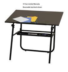 Studio Designs Drafting Tables Ultima Drafting Table Black Base 30 X 42