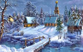 winter anime wallpaper hd download winter dreamland wallpaper cartoons anime animated