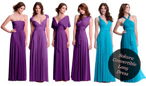 dress for bridesmaid convertible bridesmaid dresses the magazine