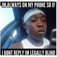 Blind Meme - legally blind what terriblefacebookmemes