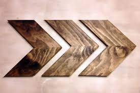 wood chevron arrows chevron arrows wood arrows woodland
