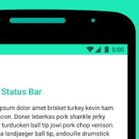 android bar longer a secret light colored status bars in android m will come