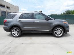 Ford Explorer 2013 - sterling gray metallic 2013 ford explorer xlt exterior photo
