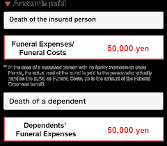 Funeral Assistance Programs Death Health Insurance Benefits Ibm Japan Health Insurance