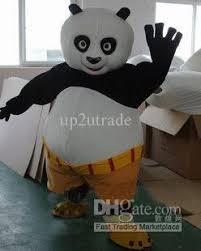 Panda Bear Halloween Costume Panda Costume Halloween Costumes Kung Fu Panda Po Mascot Animal