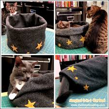 Cat Bed Pattern 20 Fantastic Pet Bed Ideas