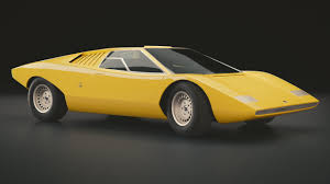 yellow lamborghini countach lamborghini countach lp500 prototype by mexanist on deviantart
