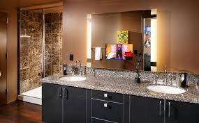 Designer Bathroom Mirrors How To Pick A Modern Bathroom Mirror With Lights