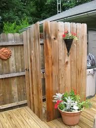 Simple Outdoor Showers - design kit best outdoor shower enclosure ideas l51 shower ideas