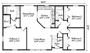 Floor Plans For Modular Homes Ranch Style Modular Homes From Gbi Avis
