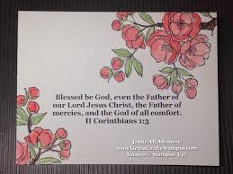 blessing cards getting crafty with blossoms and blessings sted card