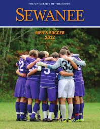 2012 sewanee men u0027s soccer fact book by clayton felts issuu