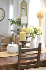 dining room fall decor dining room table styling decoration fine