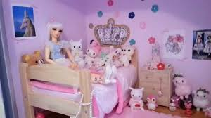 ball jointed doll sized bedroom tour youtube