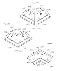 patent us8516758 crown moulding google patents