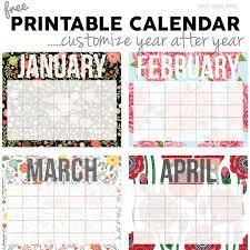 printable calendar generator cute free printable calendar generator 2018 calendar 2018 design