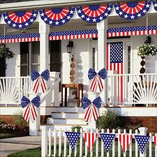 10 Best 4th of July 2016 Indoor & Outdoor Decorations Set You