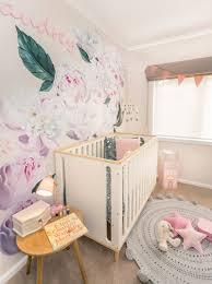 pink peonies nursery audrey s bloomy and sweet nursery by kids interiors