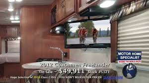 Coachmen Class C Motorhome Floor Plans by Coachmen Freelander 49 911 New 2012 Class C Rv For Sale At Mhsrv