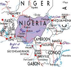 map of nigeria africa map of nigeria in africa