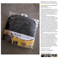 Box Cushion Pads Amazon Com Breathable 2pc Car Interior Seat Cover Cushion Pad Mat