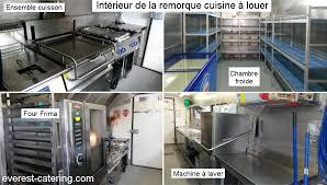 cuisine mobile professionnelle camion cuisine