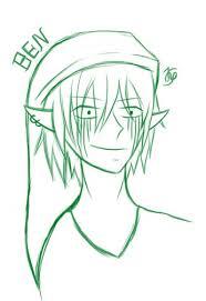 ben drowned sketch by mekaiya on deviantart