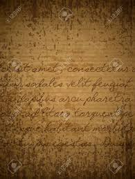 brown writing paper old brown paper with hand written text in latin royalty free old brown paper with hand written text in latin stock vector 19877498