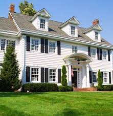 colonial homes best 25 colonial style homes ideas on style