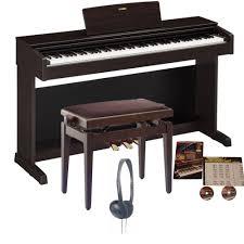 yamaha ydp 143 arius digitalpiano rosewood bundle from rimmers music