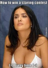 Salma Hayek Meme - salma hayek cleavage memey com