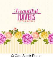 eps vector of rose gold frame gold frame rose garden with