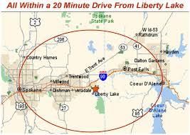 Lake Washington Map by Economic Development Liberty Lake Wa Official Website