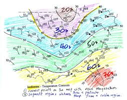 National Temperature Map Lecture 8 Surface Weather Map Analysis
