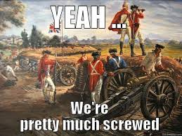 Revolutionary War Memes - battles of yorktown and monmouth the major battles of the