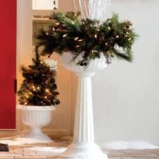 tall white planter wayfair