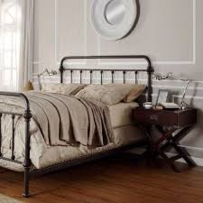 Metal Vintage Bed Frame Antique Finish Bronze Size Metal Bed This