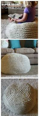 Crochet Ottoman Pattern This Is A Free Crochet Pdf Pattern And Tutorial For A