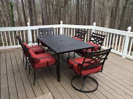 Patio Dining Sets Home Depot Patio Furniture 7 Set Patio Furniture Conversation Sets