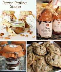fall treats for gifts with free printable tags fall
