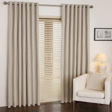 buy tweed blackout natural eyelet curtains online home focus at