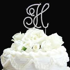 h cake topper wedding cakes letter h wedding cake topper to consider for your