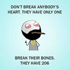 Heart Break Memes - dont break heart break bones funny meme funny memes