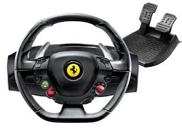 458 italia thrustmaster the s racing wheel with official