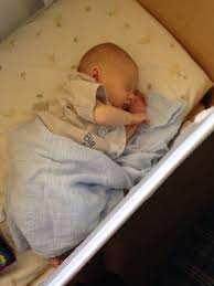 Baby Sleeping In A Crib by Newborn Sleep Co Sleeping And Cribs