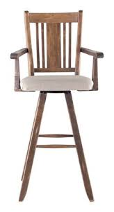 swivel bar stools with arms swivel bar stool with top grain