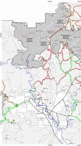 Sedona Map Scenic Sedona Area Drives West