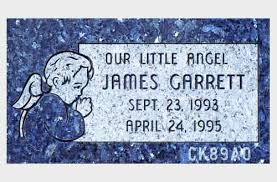flat headstones for baby and infant headstones for sale and exle epitaphs