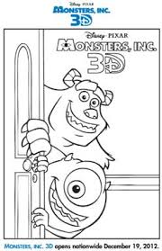 disney u0027s monsters free coloring pages kids