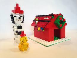 snoopy christmas dog house lego ideas snoopy s christmas dog house